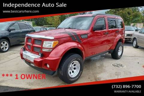 2011 Dodge Nitro for sale at Independence Auto Sale in Bordentown NJ