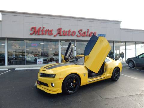 2011 Chevrolet Camaro for sale at Mira Auto Sales in Dayton OH