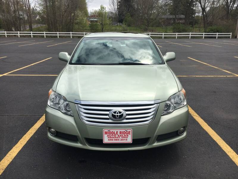 2008 Toyota Avalon for sale at Middle Ridge Auto Sales in Amherst OH