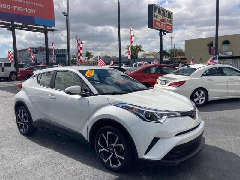 2019 Toyota C-HR for sale at MACHADO AUTO SALES in Miami FL