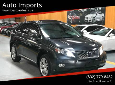2010 Lexus RX 450h for sale at Auto Imports in Houston TX