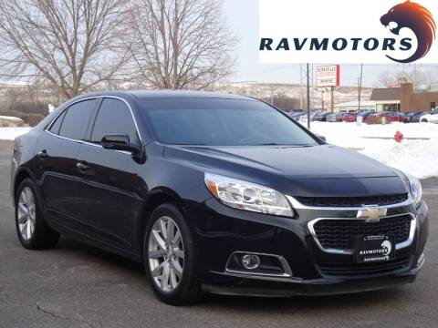 2016 Chevrolet Malibu Limited for sale at RAVMOTORS in Burnsville MN
