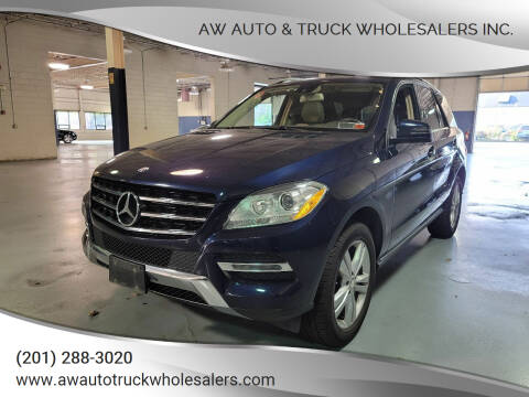 2014 Mercedes-Benz M-Class for sale at AW Auto & Truck Wholesalers  Inc. in Hasbrouck Heights NJ