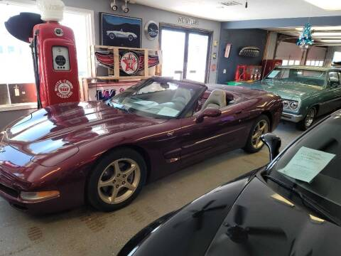 2003 Chevrolet Corvette for sale at CRUZ'N MOTORS - Classics in Spirit Lake IA