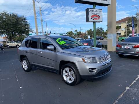2016 Jeep Compass for sale at Used Car Factory Sales & Service in Bradenton FL