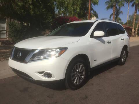 2014 Nissan Pathfinder Hybrid for sale at Arizona Hybrid Cars in Scottsdale AZ