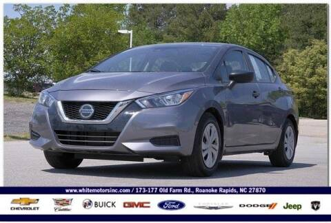 2020 Nissan Versa for sale at WHITE MOTORS INC in Roanoke Rapids NC