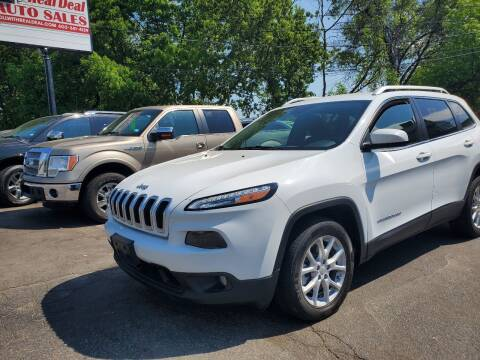 2014 Jeep Cherokee for sale at Real Deal Auto Sales in Manchester NH