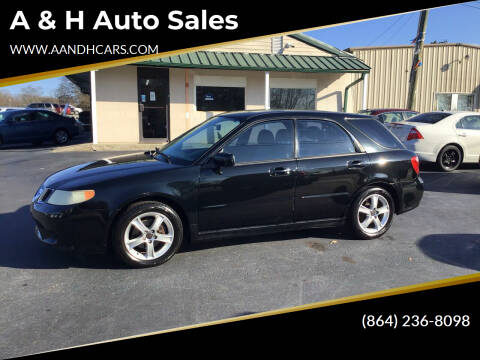 2006 Saab 9-2X for sale at A & H Auto Sales in Greenville SC