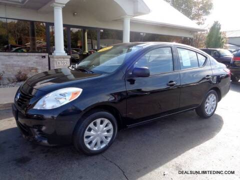 2012 Nissan Versa for sale at DEALS UNLIMITED INC in Portage MI