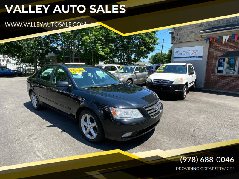 2010 Hyundai Sonata for sale at VALLEY AUTO SALES in Methuen MA
