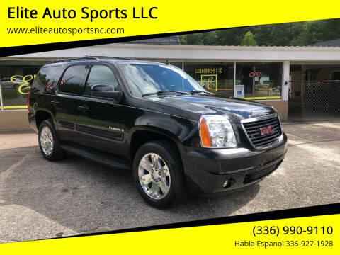 2007 GMC Yukon for sale at Elite Auto Sports LLC in Wilkesboro NC