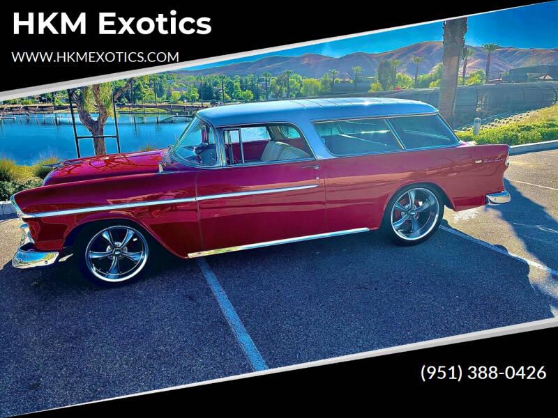 1955 Chevrolet Nomad for sale at HKM Exotics in Corona CA