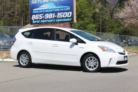 2012 Toyota Prius v for sale at Skyline Motors in Louisville TN