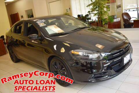 2016 Dodge Dart for sale at Ramsey Corp. in West Milford NJ