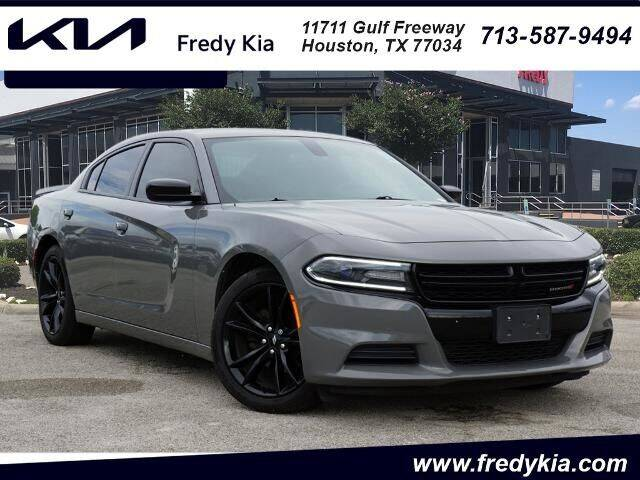 2018 Dodge Charger for sale at FREDY KIA USED CARS in Houston TX