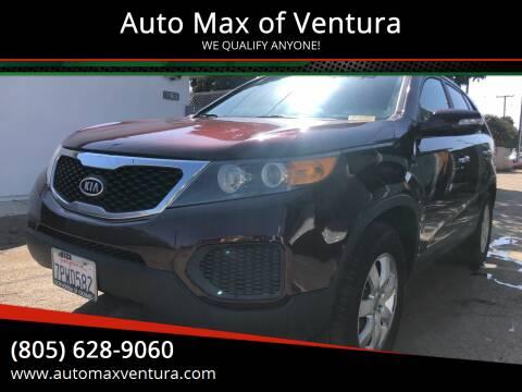 2013 Kia Sorento for sale at Auto Max of Ventura in Ventura CA