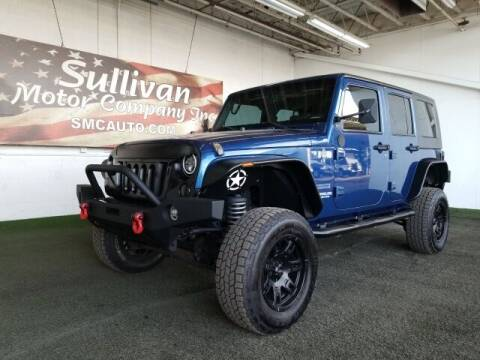 2010 Jeep Wrangler Unlimited for sale at SULLIVAN MOTOR COMPANY INC. in Mesa AZ