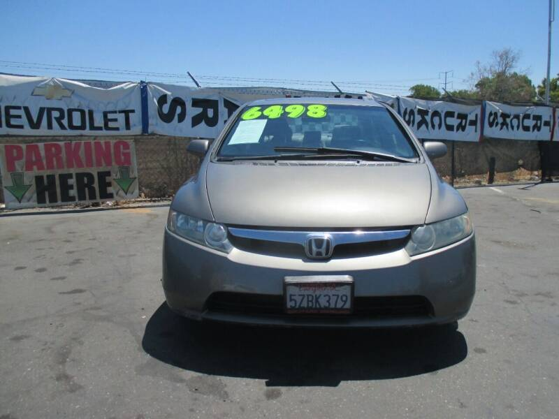 2007 Honda Civic for sale at Quick Auto Sales in Modesto CA