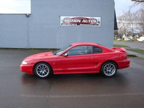 1994 Ford Mustang SVT Cobra for sale at Motion Autos in Longview WA