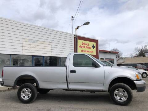 1999 Ford F-150 for sale at Direct Auto Sales+ in Spokane Valley WA