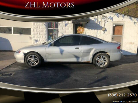 2005 Chevrolet Cavalier for sale at ZHL Motors in House Springs MO