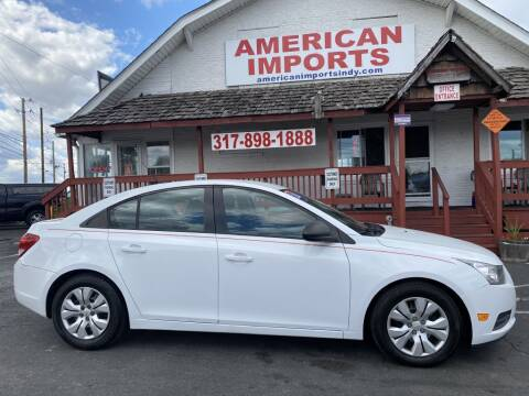 2014 Chevrolet Cruze for sale at American Imports INC in Indianapolis IN
