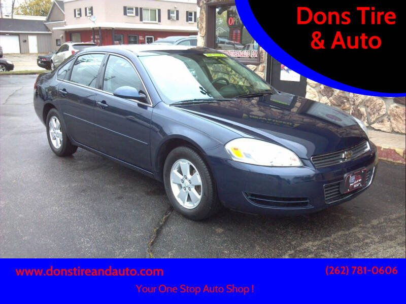 2007 Chevrolet Impala for sale at Dons Tire & Auto in Butler WI