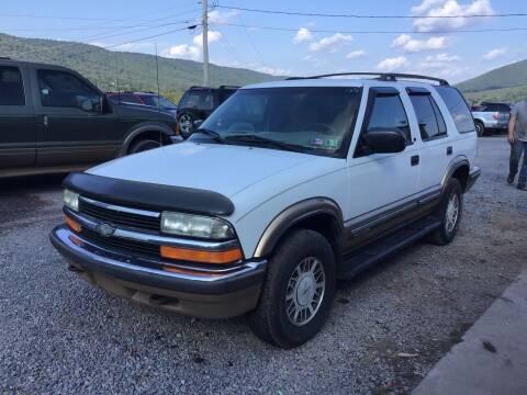 1999 Chevrolet Blazer for sale at Troys Auto Sales in Dornsife PA