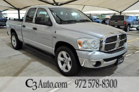 2007 Dodge Ram Pickup 1500 for sale at C3Auto.com in Plano TX