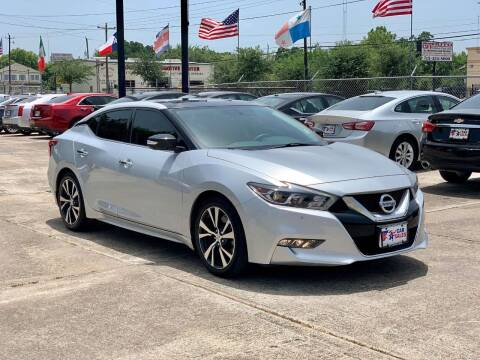 2017 Nissan Maxima for sale at USA Car Sales in Houston TX