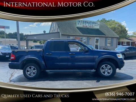 2007 Ford Explorer Sport Trac for sale at International Motor Co. in Saint Charles MO