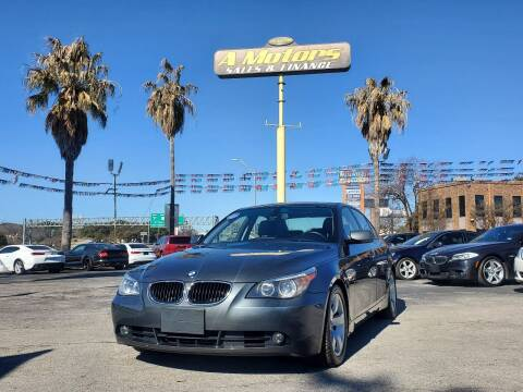 2005 BMW 5 Series for sale at A MOTORS SALES AND FINANCE in San Antonio TX