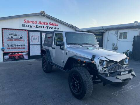2015 Jeep Wrangler for sale at Speed Auto Sales in El Cajon CA