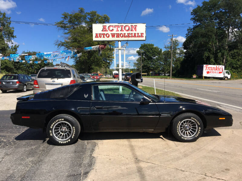 1985 Pontiac Firebird for sale at Action Auto Wholesale in Painesville OH