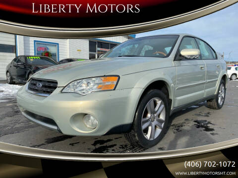 2006 Subaru Outback for sale at Liberty Motors in Billings MT