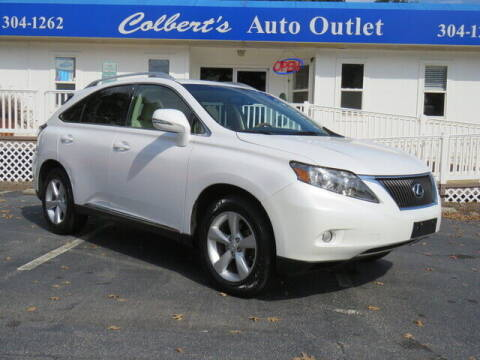 2011 Lexus RX 350 for sale at Colbert's Auto Outlet in Hickory NC