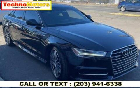 2016 Audi A6 for sale at Techno Motors in Danbury CT
