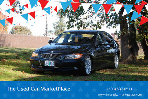 2008 BMW 3 Series for sale at The Used Car MarketPlace in Newberg OR