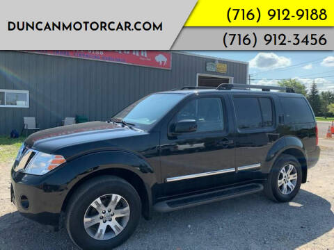 2012 Nissan Pathfinder for sale at DuncanMotorcar.com in Buffalo NY