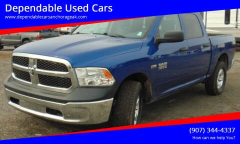 2015 RAM Ram Pickup 1500 for sale at Dependable Used Cars in Anchorage AK