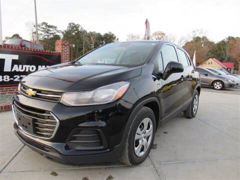 2017 Chevrolet Trax for sale at J T Auto Group in Sanford NC