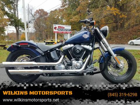 2013 Harley-Davidson Softail Slim for sale at WILKINS MOTORSPORTS in Brewster NY