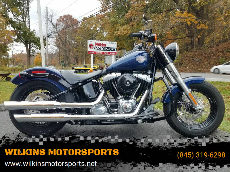 2013 Harley-Davidson Softail Slim for sale at WILKINS MOTORSPORTS in Brewster NY