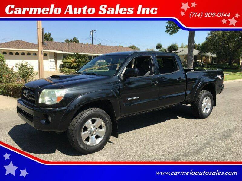 2006 Toyota Tacoma for sale at Carmelo Auto Sales Inc in Orange CA