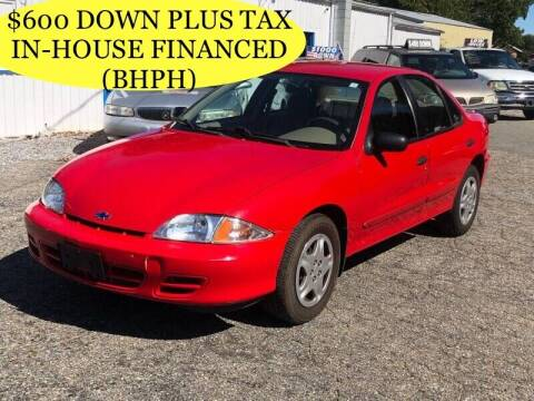 2002 Chevrolet Cavalier for sale at First Class Autos in Maiden NC