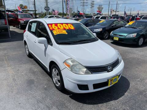 2009 Nissan Versa for sale at Texas 1 Auto Finance in Kemah TX