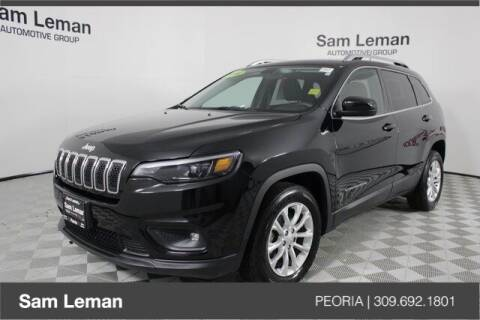 2019 Jeep Cherokee for sale at Sam Leman Chrysler Jeep Dodge of Peoria in Peoria IL