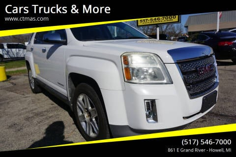 2011 GMC Terrain for sale at Cars Trucks & More in Howell MI