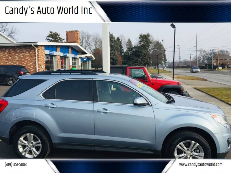 2015 Chevrolet Equinox for sale at Candy's Auto World Inc in Toledo OH